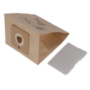 Confezione 6 sacchi carta+filtro micro - Accessimo - Mulinex Tefal