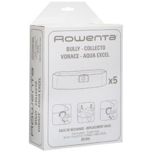 Confezione 5 sacchi carta - ZR816 - Rowenta